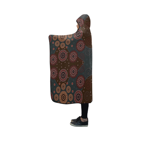 Australia Aboriginal 10 Hooded Blanket H7 | Love The World