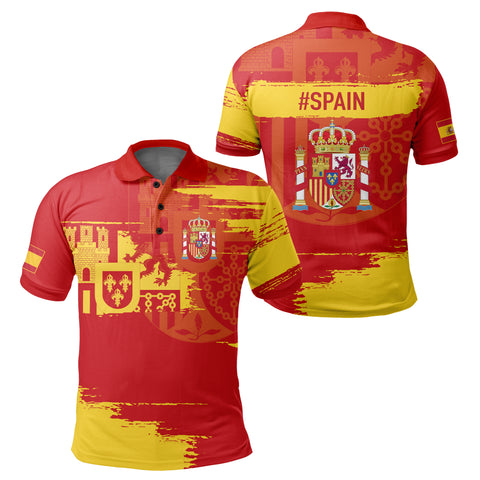 Spain Polo Shirt - Sport Ver | Clothing | 1sttheworld