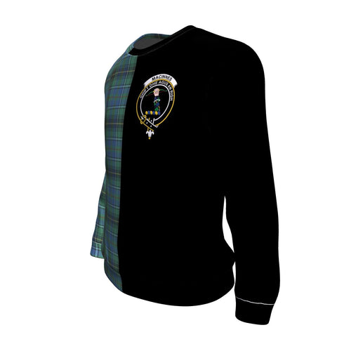 Image of MacInnes Ancient Tartan Sweatshirt - Half Style TH8