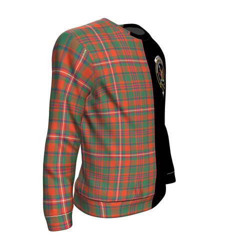 Image of MacKinnon Ancient Tartan Sweatshirt - Half Style TH8