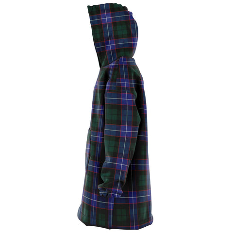 Image of Guthrie Modern Snug Hoodie - Unisex Tartan Plaid Left