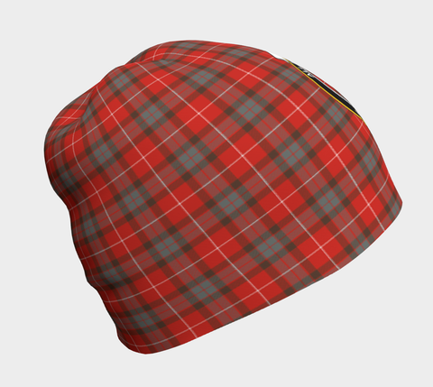 Image of Fraser Weathered Tartan Clan Crest Beanie