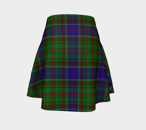 Tartan Skirt - Adam Women Flared Skirt A9 |Clothing| 1sttheworld