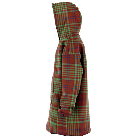 Image of MacGillivray Hunting Ancient Snug Hoodie - Unisex Tartan Plaid Left