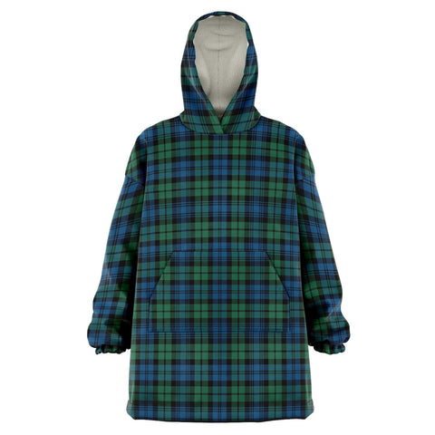Image of Campbell Ancient 02 Snug Hoodie - Unisex Tartan Plaid Front