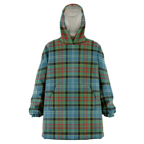 Paisley District Snug Hoodie - Unisex Tartan Plaid Front
