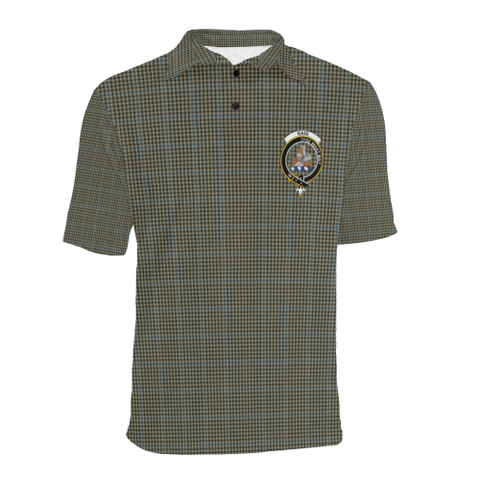 Haig Check Tartan Clan Badge Polo Shirt HJ4