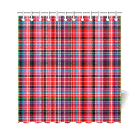 Tartan Shower Curtain - Aberdeen District | Over 500 Tartans | Special Custom Design | Love Scotland