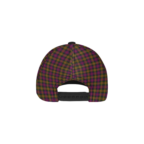 Carnegie Modern Clan Badge Tartan Dad Cap - BN03