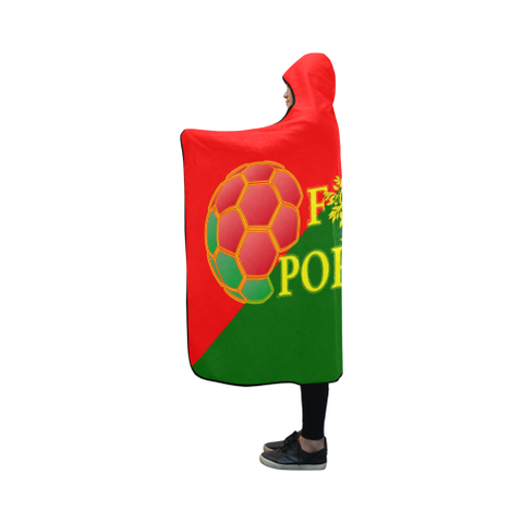 Image of Portugal World Cup Hooded Blanket 03 - Bn04 | Love The World