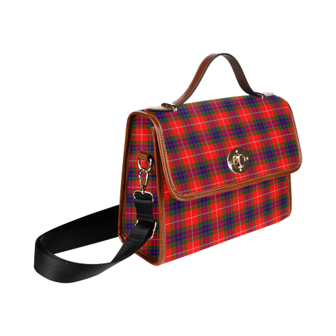 Fraser Modern Tartan Canvas Bag | Waterproof Bag | Scottish Bag