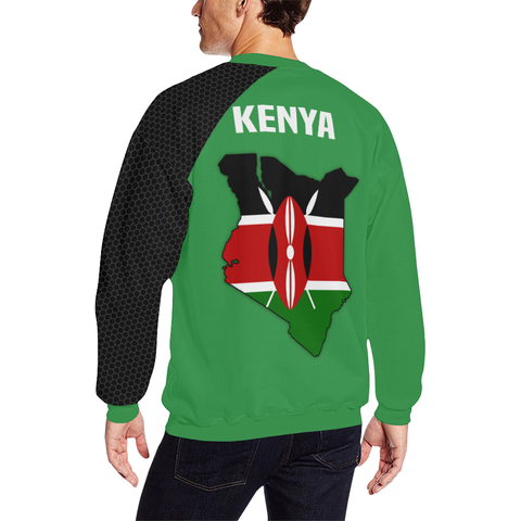 Image of Kenya Map Special Sweatshirt | High Quality | Hot Sale