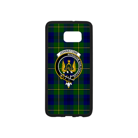 Image of Johnstone Tartan Clan Badge Luminous Phone Case