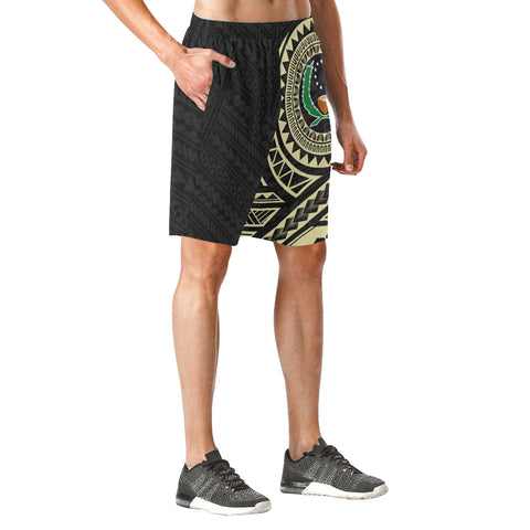 Pohnpei Polynesian Beach Shorts | Polynesian Clothings