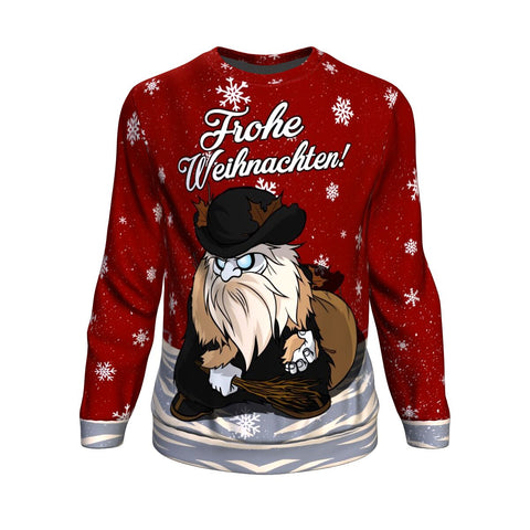Germany Sweatshirt Christmas Frohe Weihnachten A7