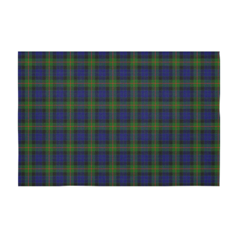 Image of Gunn Modern Tartan Tablecloth |Home Decor