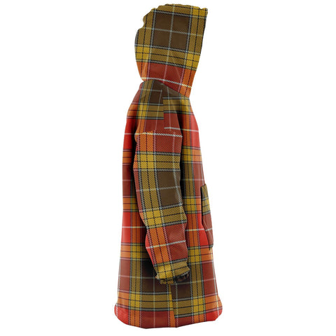 Buchanan Old Set Weathered Snug Hoodie - Unisex Tartan Plaid Right