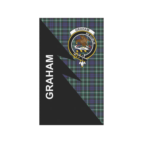 "Image of Graham Tartan Garden Flag - Flash Style 36"" x 60"""