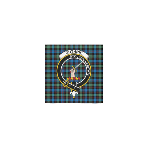 Guthrie Ancient Tartan Towel Clan Badge | 1sttheworld.com