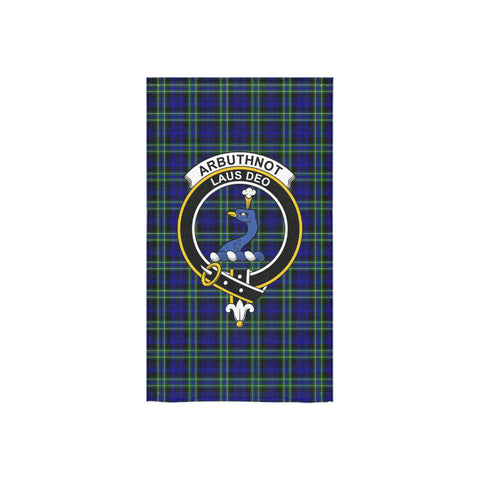 Arbuthnot Modern Tartan Towel Clan Badge NN5