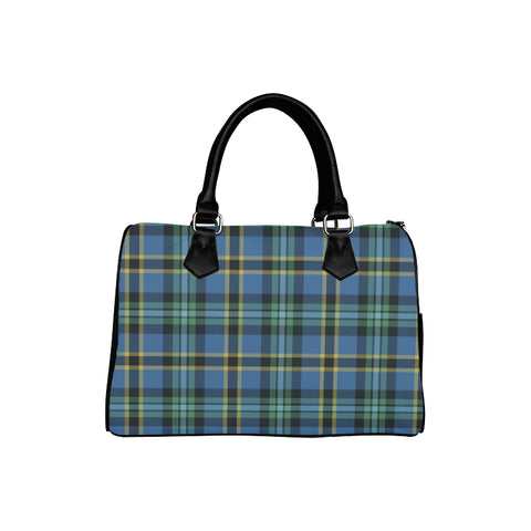 Weir Ancient Tartan Boston Handbag Hj4