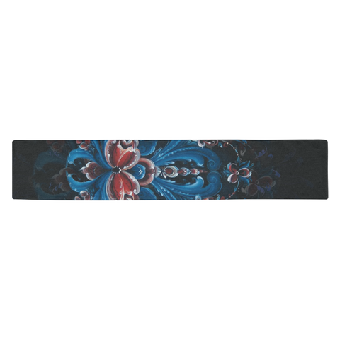 Norway rosemaling table runner NN9