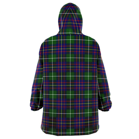 Image of Inglis Modern Snug Hoodie - Unisex Tartan Plaid Back