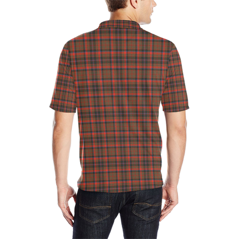 Cumming Hunting Weathered  Tartan Polo Shirt HJ4