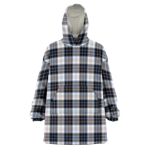 MacRae Dress Modern Snug Hoodie - Unisex Tartan Plaid Front