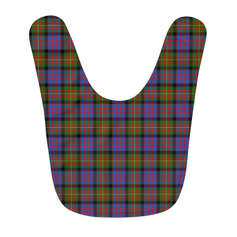 Carnegie Ancient Fleece Baby Bib | Kids Scottish Clothing | Bib Garment