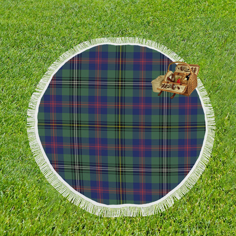 WOOD TARTAN BEACH BLANKET th8