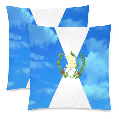 Love The World | Guatemala Pillow Case - Sky Flag | Special Custom Design