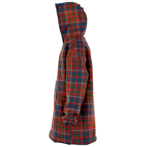 Cameron of Lochiel Ancient Snug Hoodie - Unisex Tartan Plaid Left