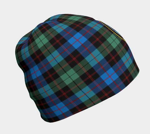 Image of Guthrie Ancient Tartan Clan Crest Beanie