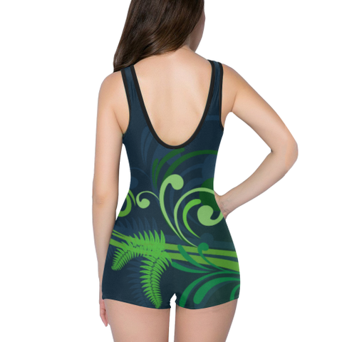 Special Edition of New Zealand Fern - Fern One Piece Swimsuit