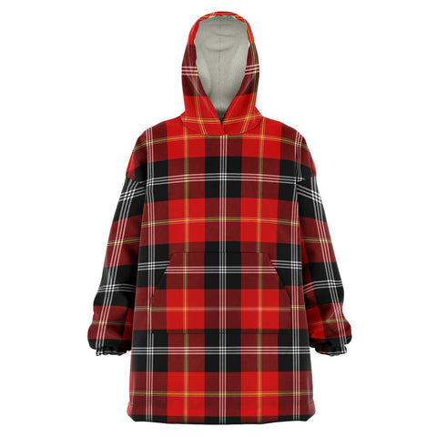 Image of Marjoribanks Snug Hoodie - Unisex Tartan Plaid Front