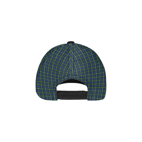 Image of Campbell Argyll Ancient Clan Badge Tartan Dad Cap - BN03
