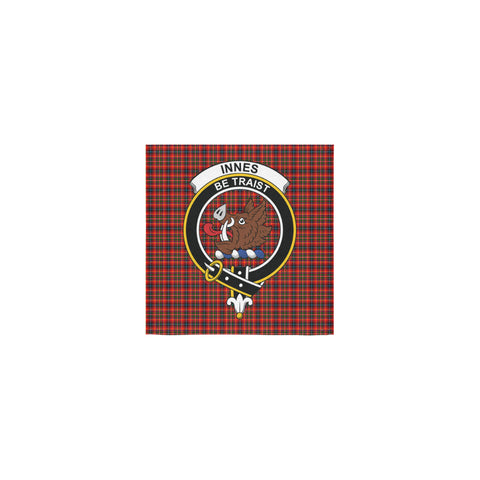 Image of Innes Modern Tartan Towel Clan Badge | 1sttheworld.com