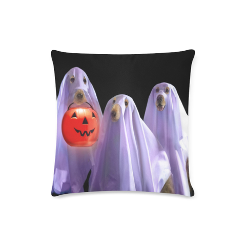 Ghost Dog Halloween Pillow Covers K5