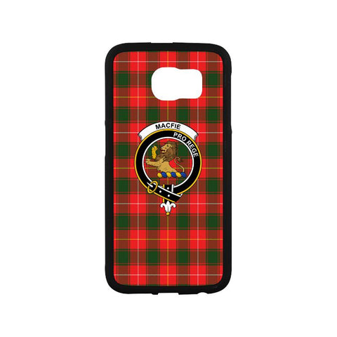Macfie Tartan Clan Badge Rubber Phone Case HJ4