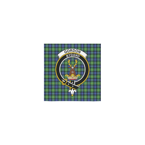 Gordon Old Ancient Tartan Towel Clan Badge | 1sttheworld.com