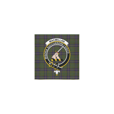 MacMillan Hunting Modern Tartan Towel Clan Badge | 1sttheworld.com