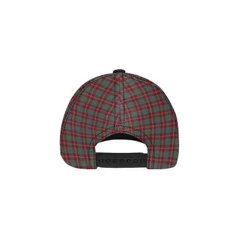 Crawford Modern Clan Badge Tartan Dad Cap - BN03