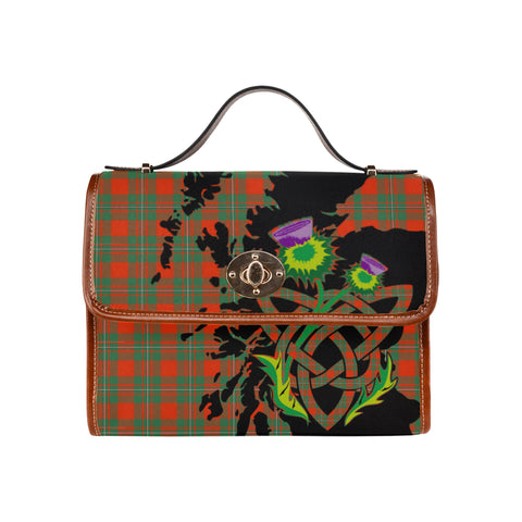 MacGregor Ancient Thistle Canvas Handbags | Waterproof Bags | Scottish Clans