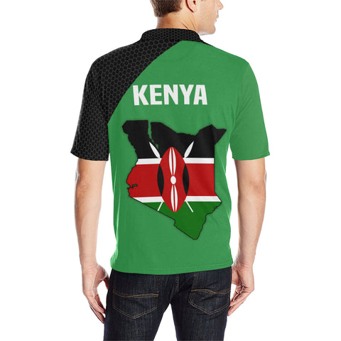 Image of Kenya Map Special Polo Shirt | High Quality | Special Design