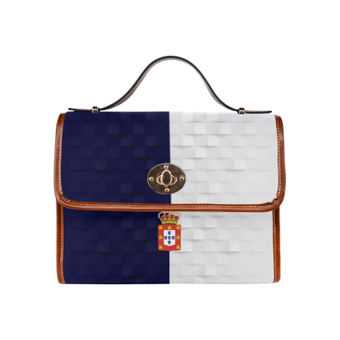 Kingdom of Portugal Flag Waterproof Canvas Bag | Love Kingdom of Portugal | Hot Sale