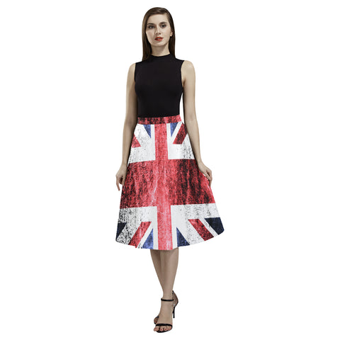 THE UNITED KINGDOM FLAG AOEDE CREPE SKIRT A1
