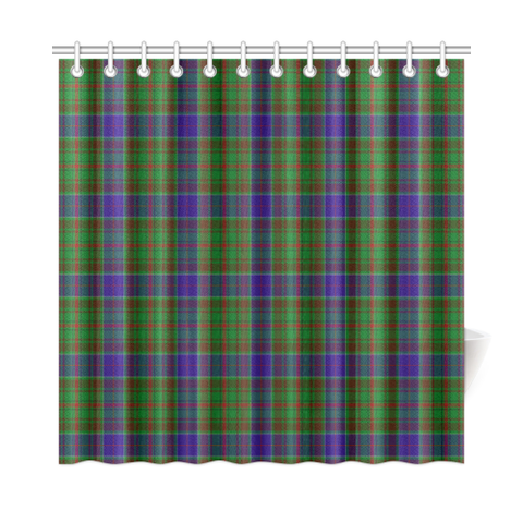 Tartan Shower Curtain - Adam | Over 500 Tartans | Special Custom Design | Love Scotland