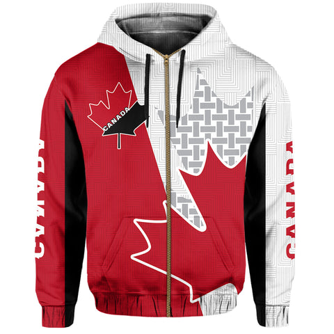 Image of Canada Zip Hoodie - Maple Leaf Special