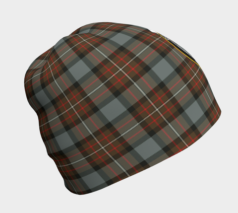 Fergusson Weathered Tartan Clan Crest Beanie